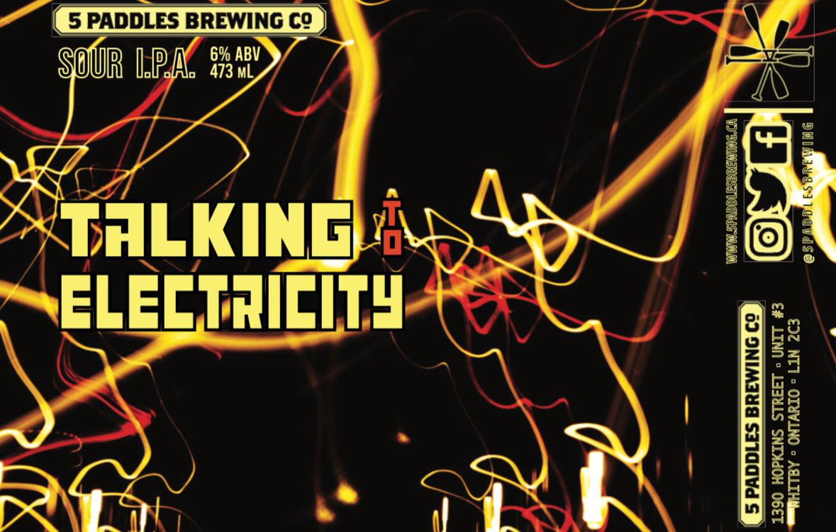 Talking To Electricity - Sour IPA - 473mL