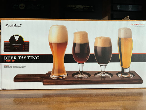 6 Piece Beer Tasting Set