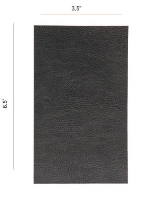 ProtectionPro - Texture Film, Charcoal Leather, Small