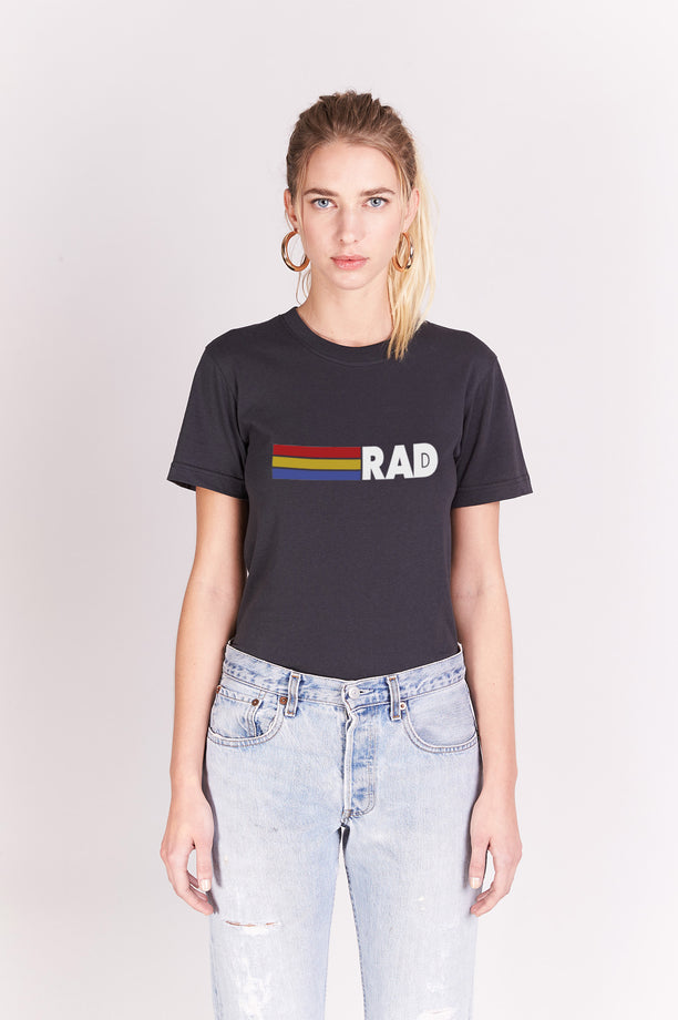 T-shirt Boyfriend - Rad - Anthracite