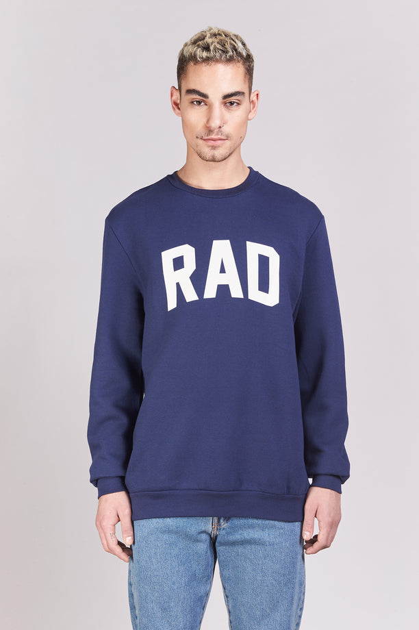 Sweat-shirt - Rad Block - Navy