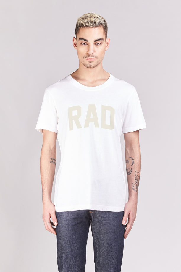 T-shirt - Rad Block - Blanc