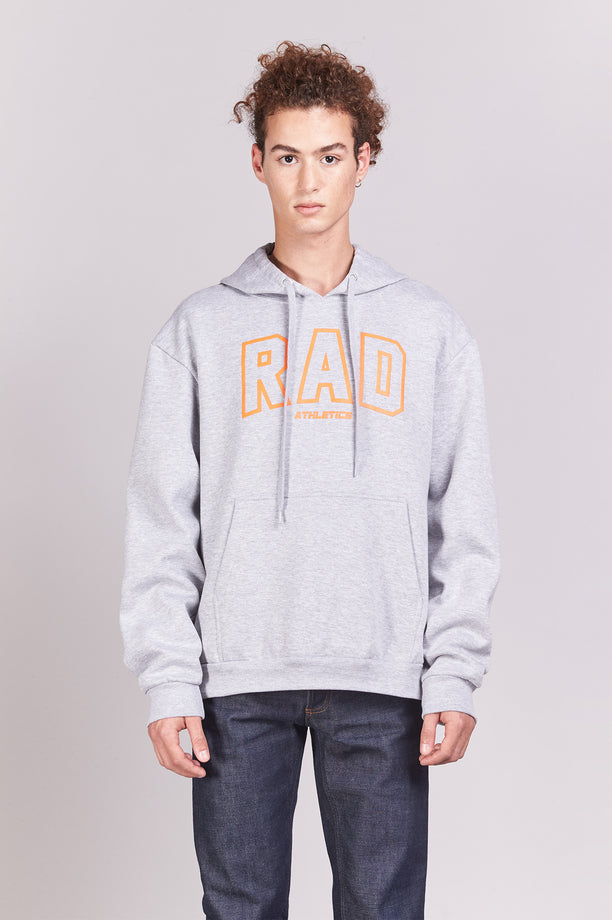 Hoodie - Rad Athletics - Gris chiné
