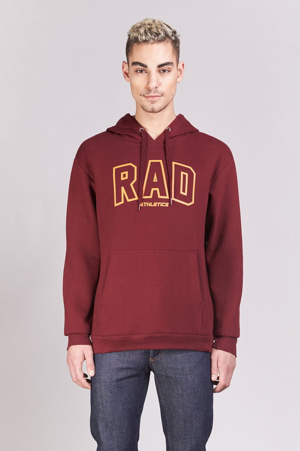 Hoodie - Rad Athletics - Bordeaux