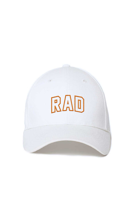 Casquette Baseball - Rad Athletics - Blanc