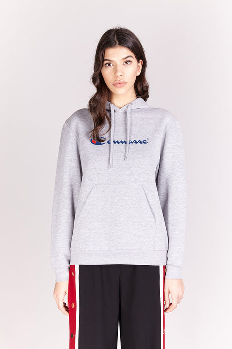 Hoodie - Connasse - Gris chiné