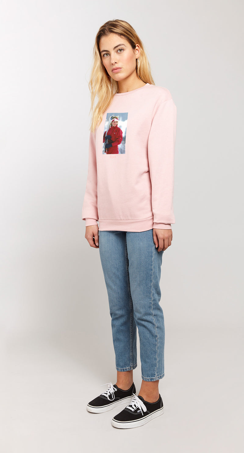 Sweat-shirt - Princesse - Pêche