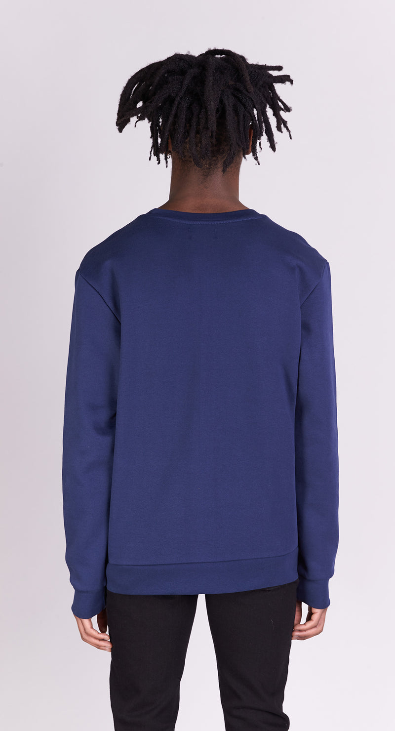 Sweat-shirt - Après-Ski - Navy