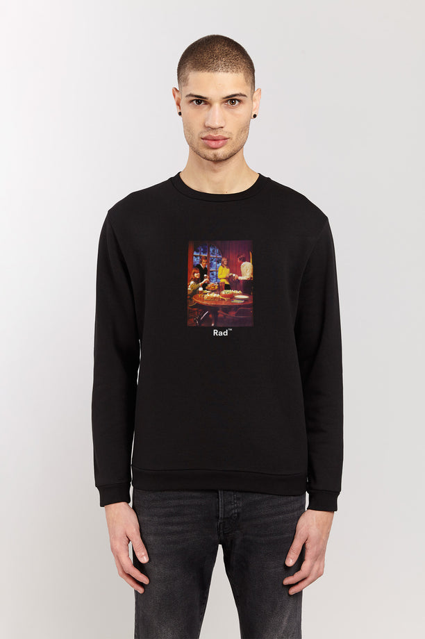 Sweat-shirt - Winter Party - Noir