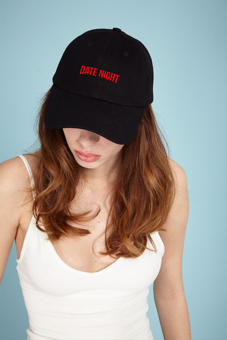 Casquette Baseball - Date Night - Noir