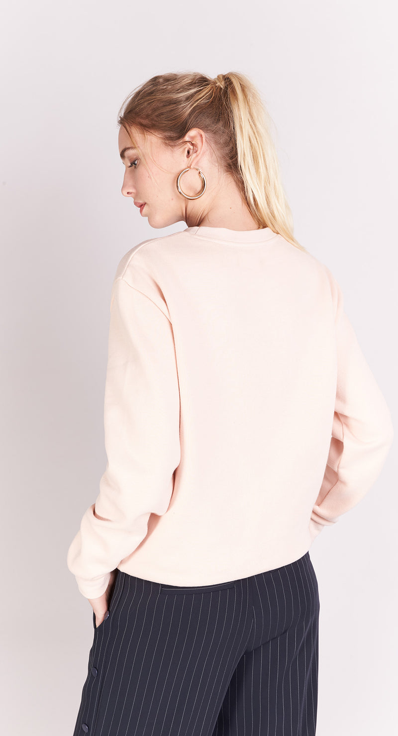 Sweat-shirt - Nude