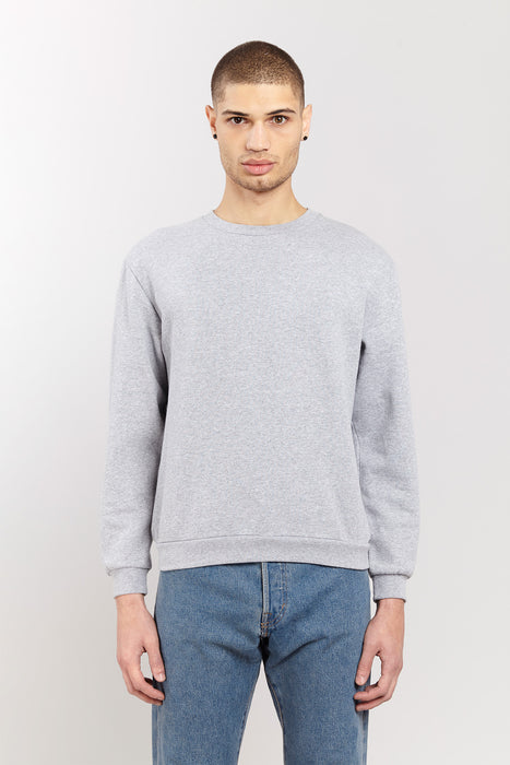 Sweat-shirt - Gris chiné