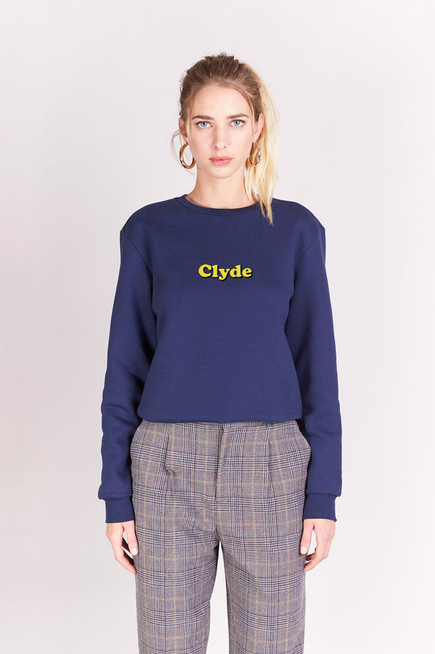Sweat-shirt - Clyde - Navy