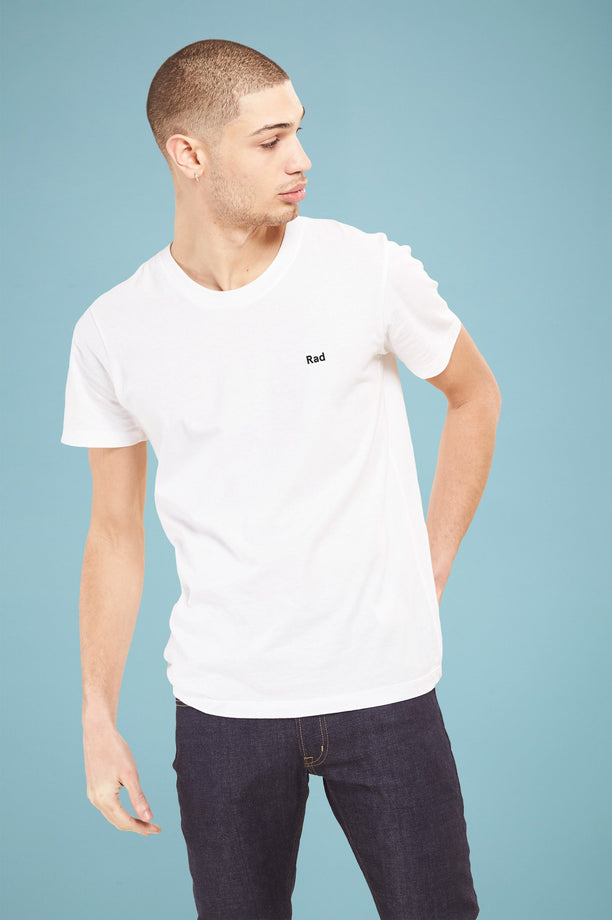 T-shirt - Rad Logo Series - Blanc