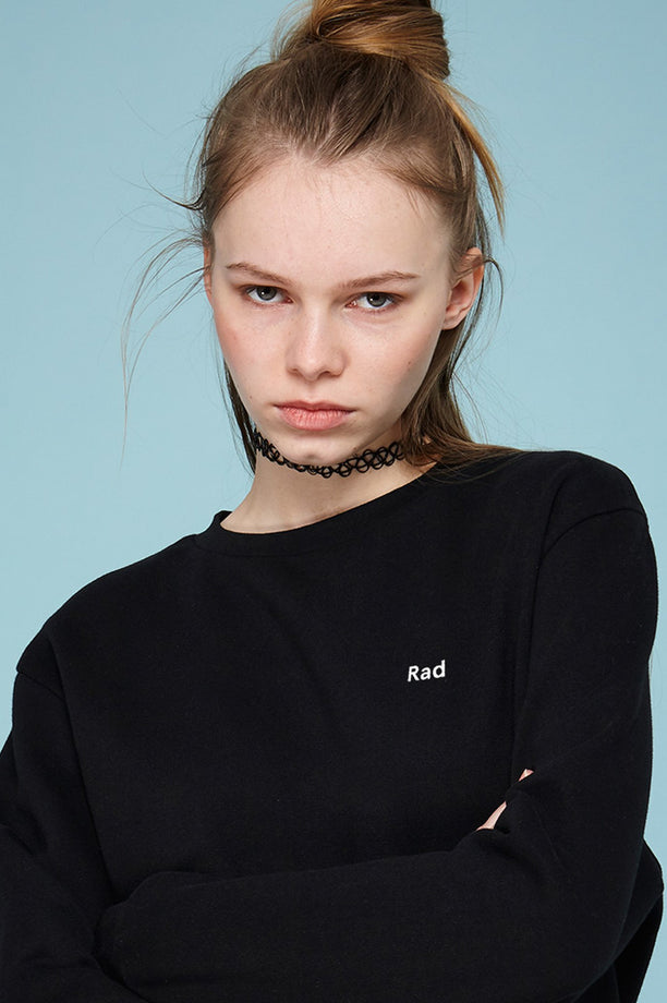 Sweat-shirt - Rad Logo Series - Noir