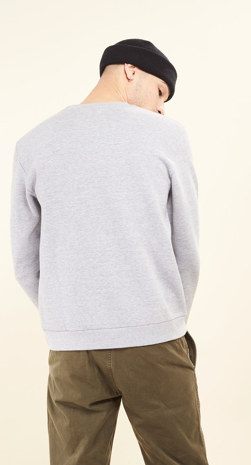 Sweat-shirt - Fraiche Fila - Gris chiné