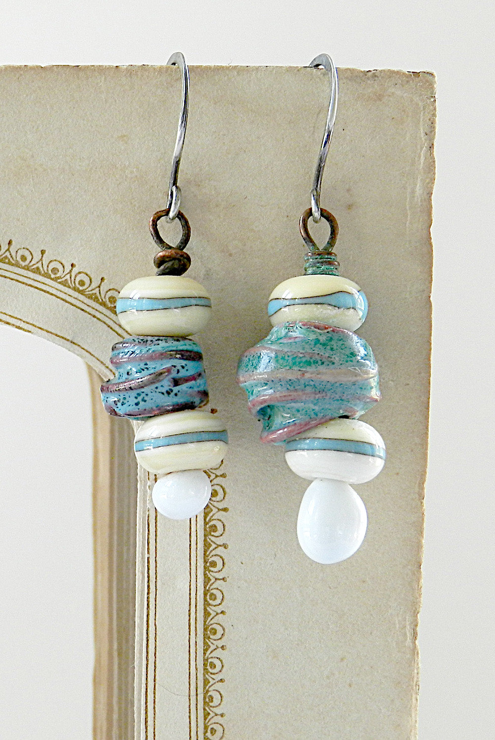 Asymmetrical earrings 1