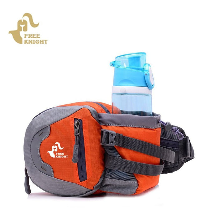 Waist Belt Bag With Water Bottle Holder