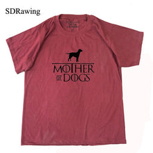 Mother of Dogs Ladies T Shirt