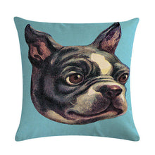 Dog  Linen Cushion Cover (check out all the breeds)