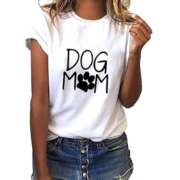 Dog Mom Women Tees