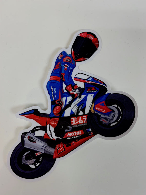 HERRIN 2019 WHEELIE STICKER 5 INCHES