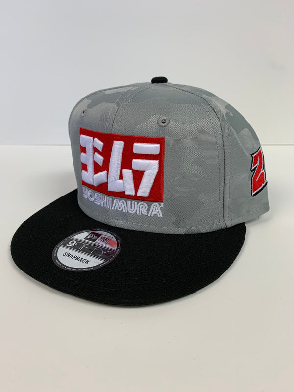 JH2 2019 YOSHIMURA New Era Camo Flat Bill Snapback Hat