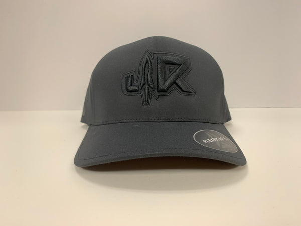 JR FLEX FIT DELTA BLACK ON BLACK
