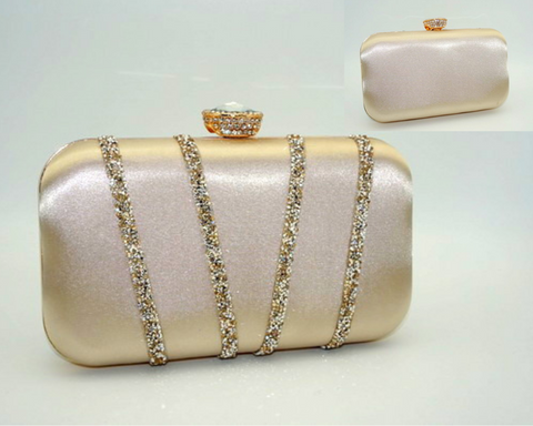 Belinda Gold, Beth Jordan clutch bag, bridal 2019