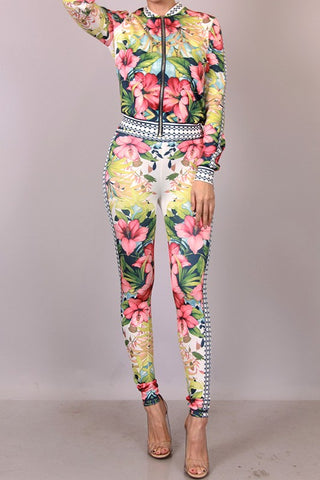 FlowerBoom 2 piece pants set