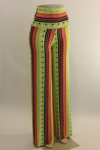 Printed Design wide leg Pallazzo Pants