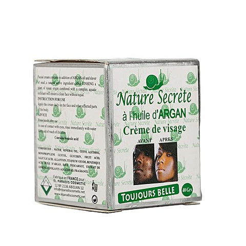 Nature Secrete Argan oil Skin Lightening Cream by reeanne.com