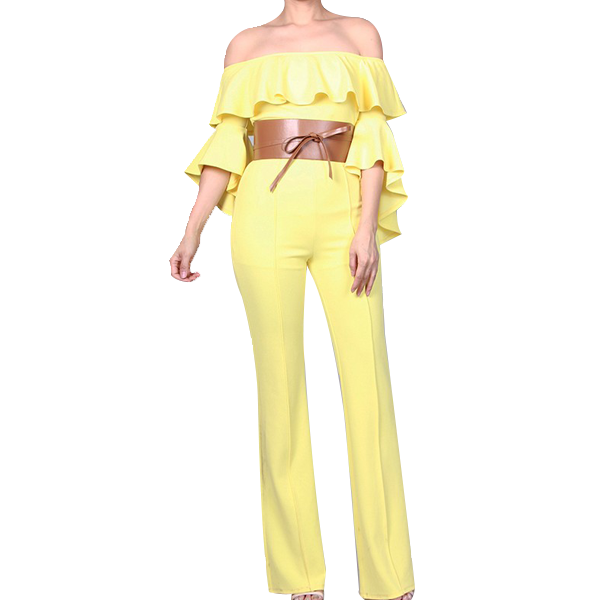ReeAnne Yellow Jumpsuit