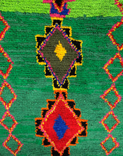 Load image into Gallery viewer, Colorful Moroccan Boucherouite Rug - 5' x 4'11""