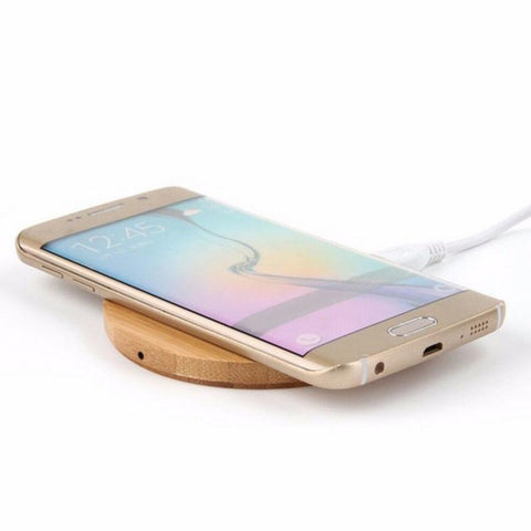 Bamboo Phone Charger