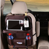 Back Seat Organizer with Folding Tray
