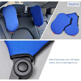 Double Comfort Travel Headrest