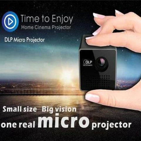 Mini Cube DLP Projector