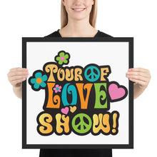 Tour of Love Show Framed poster