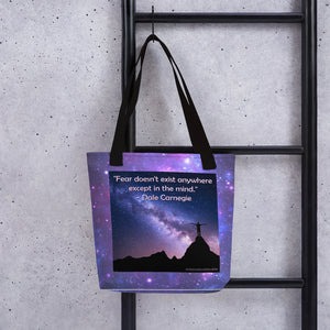 Fear - In The Mind Tote bag