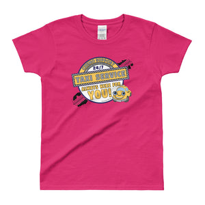 Chemo Support Taxi Service Ladies' T-shirt Available up to 3X