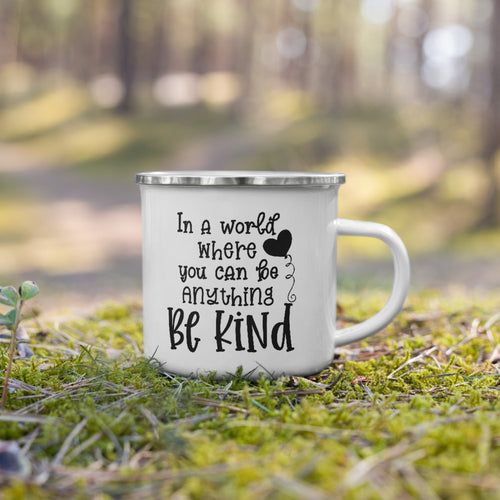 Be Kind Enamel Mug