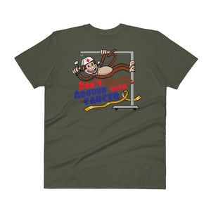 Don't Monkey Around V-Neck T-Shirt