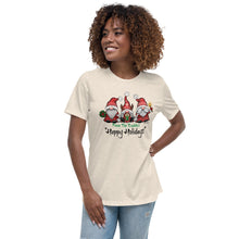 "From The Buddies ""Happy Holidays"" Women's Relaxed T-Shirt"