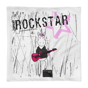 ROCKSTAR Square Pillow Case only