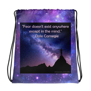 """Fear - In The Mind"" Drawstring bag"