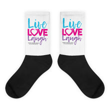 Live, LOVE, Laugh Socks