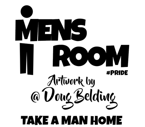 Mens Room by Doug Belding