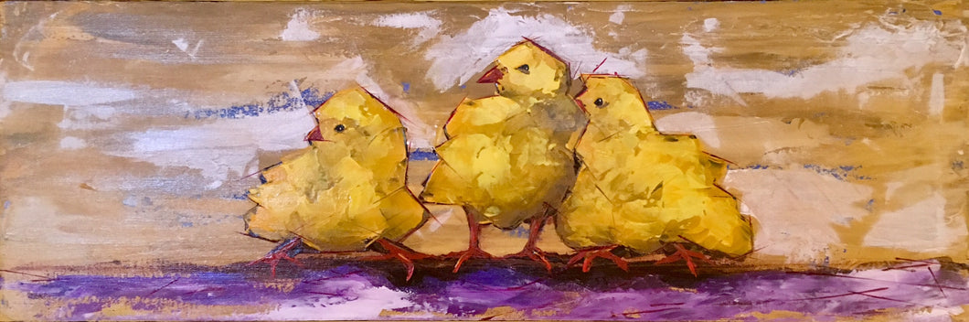 Chubby Chicks Nando, Pedro & Tino by Doug Belding