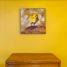 Chubby Chick Claudia by Doug Belding on wall